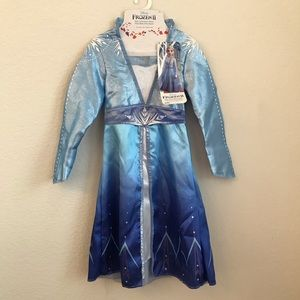 Disney Frozen II Elsa Dress Costume Halloween 4-6X